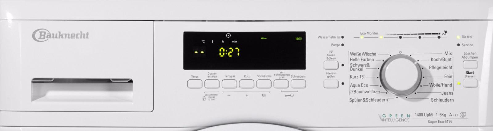 bauknecht super eco 6414 el lt lt s mos g p grx electro outlet. Black Bedroom Furniture Sets. Home Design Ideas