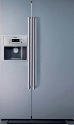 siemens ka58na70 side by side h t szekr ny grx electro outlet. Black Bedroom Furniture Sets. Home Design Ideas